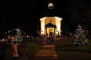 Stille Nacht Kapelle im Dezember © Alexander Gautsch