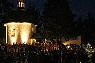 Celebrating the memorial service in honour of the creators of Silent Night! © Alexander Gautsch