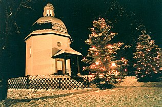 Silent Night Chapel in winter © Alexander Gautsch